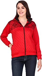 Kiba Retail Winter Wear Casual Full Sleeves Woollen Jacket for Women's/Girl's Pack of 1 (Color-Multicolor,Size-S, M, L, XL)