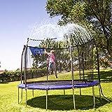 INMUA Trampoline Sprinkler, Outdoor Water Play Sprinklers, Fun Water Park Summer Games Yard Sprinkler (10M/32.8ft)