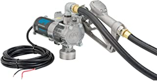 GPI - EZ-8 Fuel Transfer Pump, Manual Shut-Off Nozzle, 8 GPM fuel pump, 10' Hose, Power Cord, Adjustable Suction Pipe (137100-01)