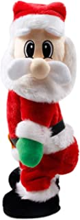 BoodTag Santa Claus Toys Singing Electric Xmas Decoration Hip Twerking Ornaments