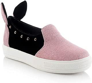 BalaMasa Womens APL12364 Pu Platform Heels