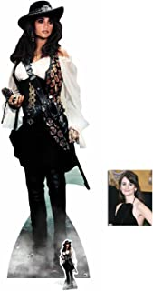 Fan Pack - Angelica (Penelope Cruz) Pirates of The Caribbean Lifesize and Mini Cardboard Cutout/Standup / Standee - Includes 8x10 Star Photo