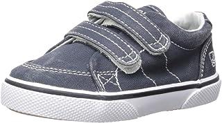 Sperry Halyard Hook & Loop Boat Shoe (Toddler/Little Kid)