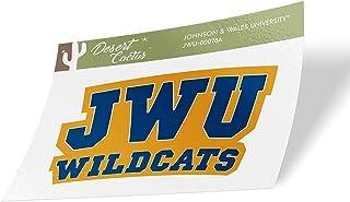 Johnson & Wales University JWU Wildcats NCAA Vinyl Decal Laptop Water Bottle Car Scrapbook (Sticker - 00078A)