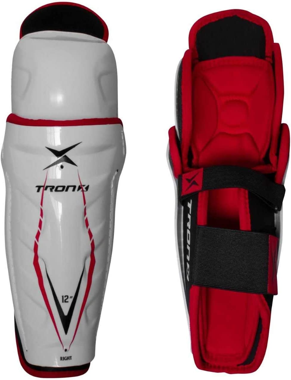 TronX Force Junior Ice Shin Hockey NEW ! Super beauty product restock quality top! before selling ☆ Guards