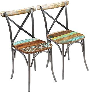 sillas madera vintage segunda mano