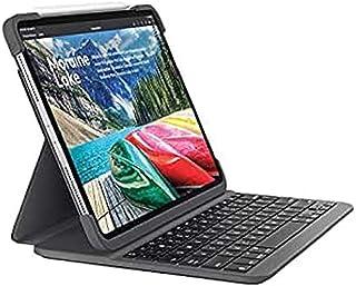 Logitech Slim Folio Pro - Clavier et étui - rétroéclairé - Bluetooth - QWERTZ - Suisse - Pour Apple 12.9-inch iPad Pro (3è...