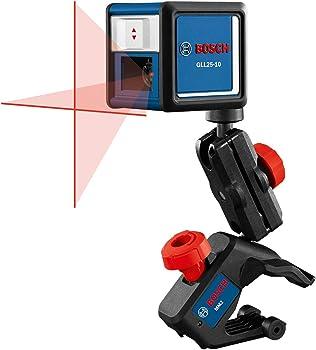 Bosch GLL25-10 30' Beam Self-Leveling Cross-Line Laser Level