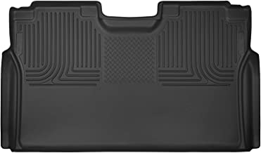 Husky Liners Fits 2015-19 Ford F-150 SuperCrew, 2017-19 Ford F-250/F-350 Crew Cab - without Factory Storage Box X-act Contour 2nd Seat Floor Mat (Full Coverage)