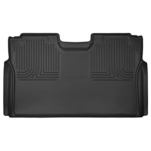 Husky Liners 53491 Black X-act Contour 2nd Seat Floor Liner Fits 2015-2019 Ford F-150 SuperCrew Cab, 2017-2019 Ford F-250/f-350 Super Duty Crew Cab Pickup WITHOUT factory storage box