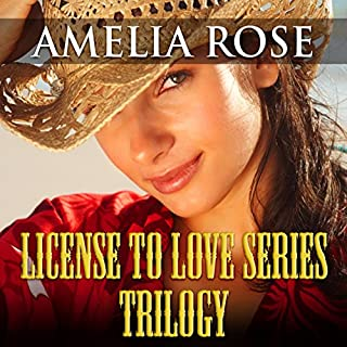 License to Love Series: Trilogy audiobook cover art