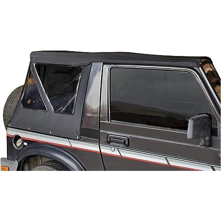 Bestop 51361-15 Black Denim Replace-A-Top Soft Top Clear Windows; No Door Skins Included for 1988-1994 Suzuki Samurai