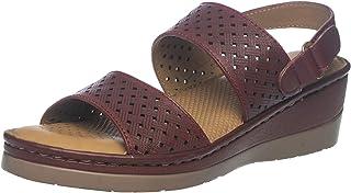 SOFTOUCH by Khadim's Women Maroon Heel Sandal