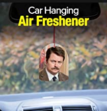 Telesca Parks Recreation Rec Ron Swanson Bacon Car Air Freshener Promo 4 inches