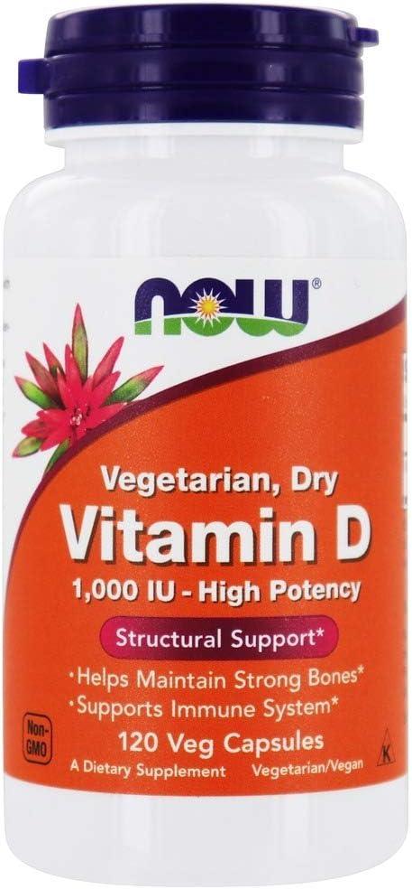 Now Foods - Vitamin D cheap Vegetarian Dry Super popular specialty store Ca 1000 120 IU