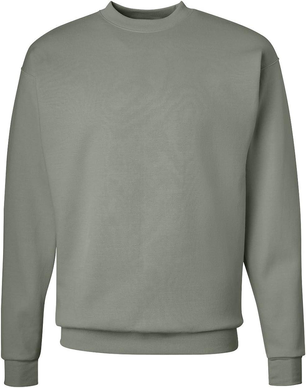 Hanes ComfortBlend EcoSmart Crewneck Sweatshirt at  Men's Clothing store