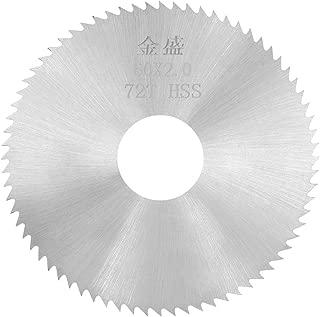 uxcell Mini Circular Saw Blades 60x16x2mm 72 Teeth HSS Disc Cutting Blade for Wood Metal