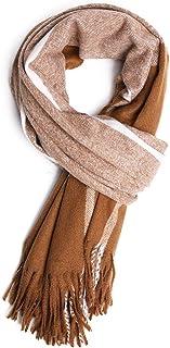 Ladies Plaid Blanket Scarf Winter Womens Soft Long Scottish Scarves Shawl Wrap Tassel Designer Oversized Fashion