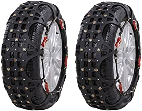 Car Snow Chain car SUV Snow Emergency tire Snow Chains Easy to Install (Size : 20555R16)