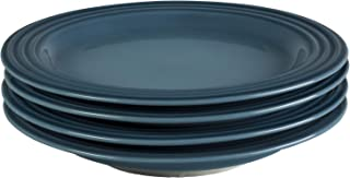 Le Creuset of America PG9300S4-226M Salad Plates (Set of 4), 8.5