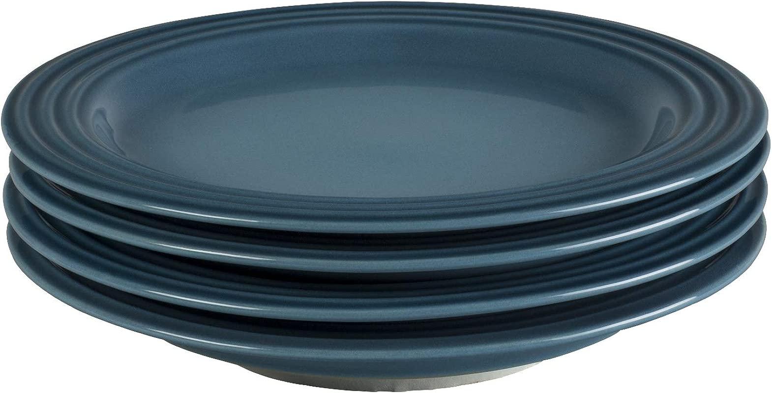 Le Creuset Of America PG9300S4 226M Salad Plates Set Of 4 8 5 Marine