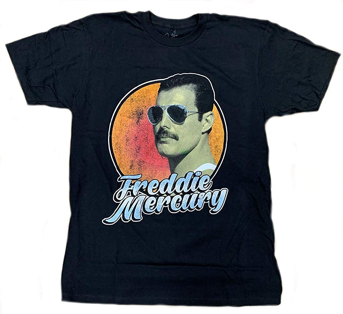 Queen Ranking TOP13 Freddie Mercury Script T-Shirt Outlet SALE