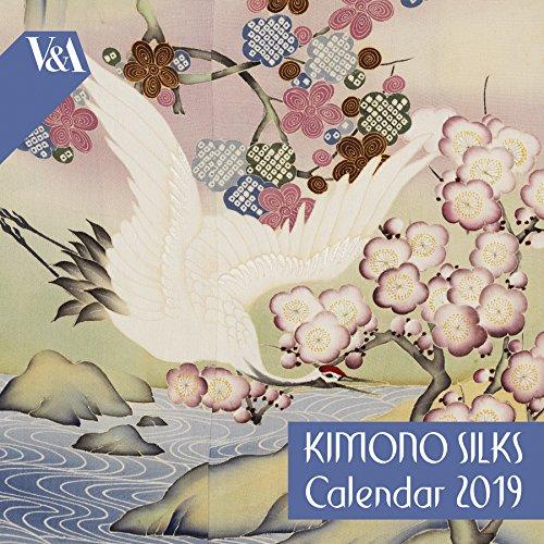 V&A Kimono Silks - mini wall calendar 2019 (Art Calendar)