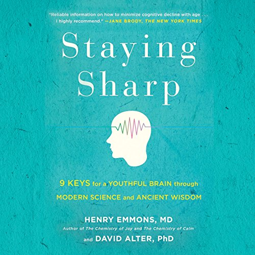 Staying Sharp audiobook cover art
