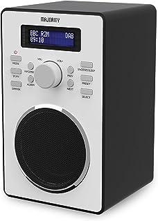 Sponsored Ad – Majority Barton II DAB Radio   FM & DAB/DAB+   Dual Alarm with Snooze Function   20 Preset Stations