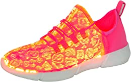 Chaussures Fibres Optiques LED Lumineuse Chaussure