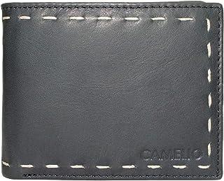 Camelio Navy/Tan Men's Wallet (CAM-BL-049)