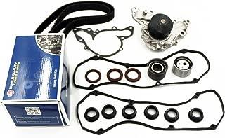 Timing Belt Water Pump Kit fits for 1995-2005 Chrysler Sebring, Cirrus, Dodge Avenger Stratus, Mitsubishi Eclipse, Galant, Montero, Montero Sport 2.5L V6 SOHC 6G72 6G73