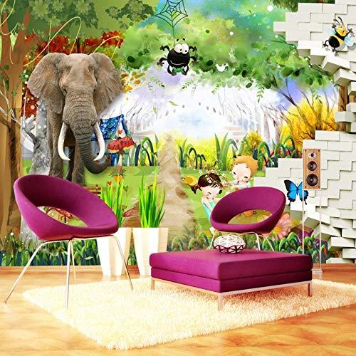 Pbbzl 3D-fotobehang, olieverfschilderij, adelaar met witte kop, 3D, stereo, behang, voor woonkamer, slaapkamer, personaliseerbaar, hoogwaardig, muur 280 x 200 cm
