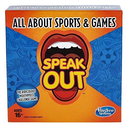 Hasbro Gaming Speak Out Expansion Pack: All About Sports and Games