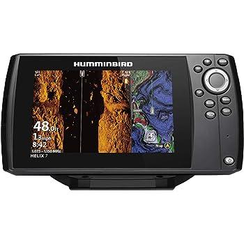 Humminbird 410950-1NAV HELIX 7 CHIRP MSI (MEGA Side Imaging) GPS G3 NAV Fish Finder