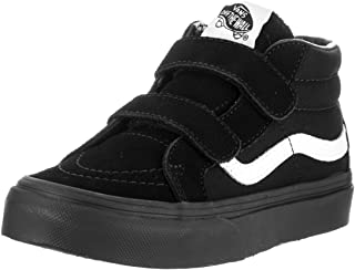 Sk8-Mid Reissue V Youth Unisex Casual Sneakers, Size 2, Color Black