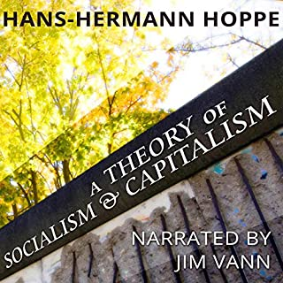 A Theory of Socialism and Capitalism audiobook cover art