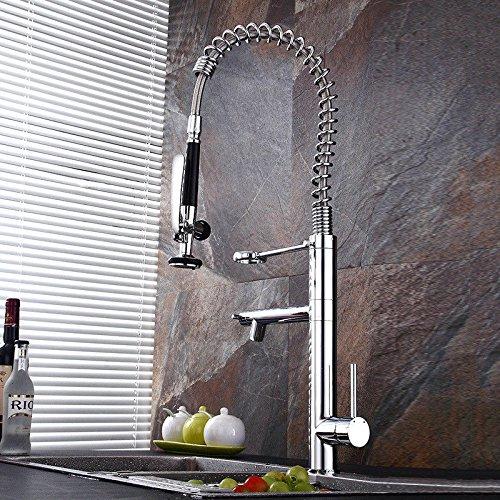 XPYFaucet Wasserhahn Armatur Mischbatterie Moderne einfache kalte heiße und kalte Spülbeckenküche