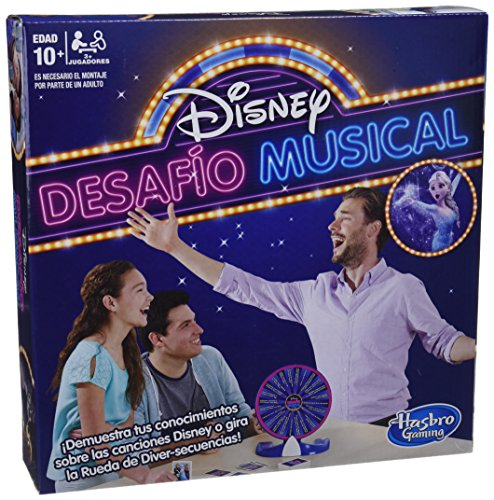 Hasbro Gaming Disney Desafio Musical (E1872105)