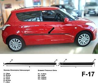 Listelli di Protezione Laterali F58 Colore: Nero Spangenberg 370005801 per Lexus NX 300H SUV NX300H Anno di Costruzione 07.2014