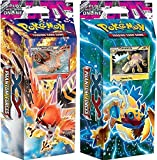 Pokémon Pokemon TCG Phantom Forces - Theme Decks: Burning Winds & Bolt Twister