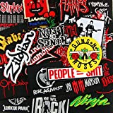 10 Patches - Random Rock Music Band Iron/Sew on Embroidered Patches