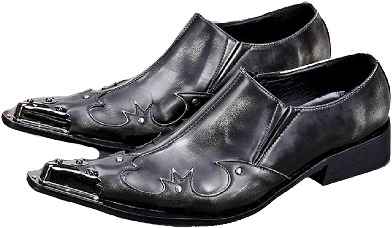 Omslag Omslag Omslag Plus Vintage svart Designer Genuine läder herr Slip on Casual Dress Suit skor  bästa rykte