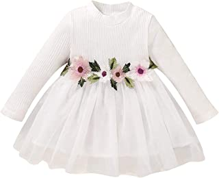 Toddler Infant Girl Clothes Outfits Tunic Princess Dress Long Sleeve Tutu Skirts for Little Girls Special Tulle Tutu Skirt