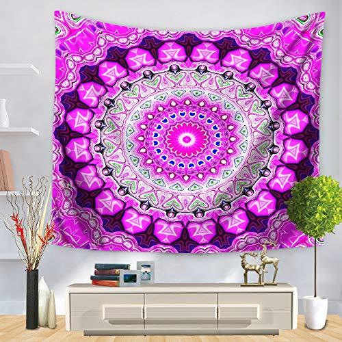 WERT Tapiz de Pared con diseño de Mandala para el hogar, decoración del hogar, tapices de Estilos para Colgar en la Pared, tapices para Sala de Estar, Dormitorio, A4 200x150cm