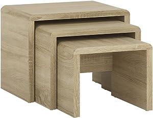 Furniture to Go 4you Petite Tables gigognes 1+ 1+ Bois, chêne