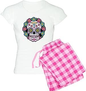 Dia De Los Muertos Skull Pajamas Women's PJs
