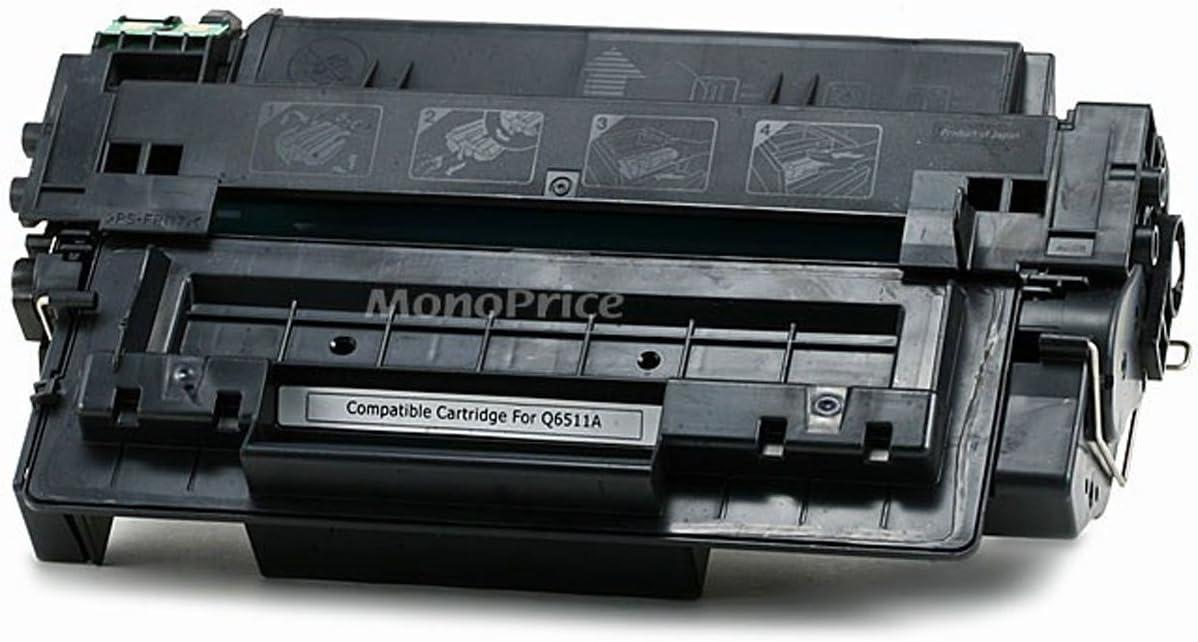 Monoprice 109522 MPI Remanufactured HP11A Q6511A Laser/Toner