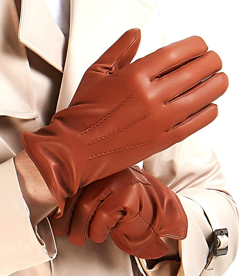 Mens Luxury Nappa Lambskin Gloves ! Super beauty product restock quality top! Lining Cashmere Popular Leather