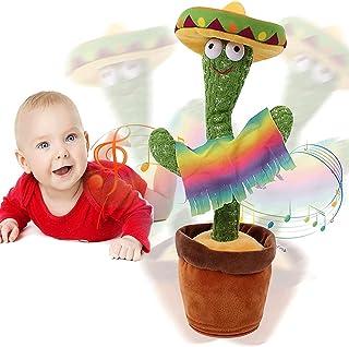 Juguete De Peluche De Cactus Bailarín, Juguete Electrónico De Cactus, Cactus Electrónico Que Baila con Música, Juguete Elé...
